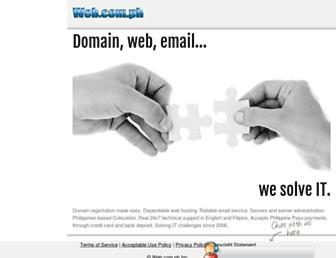 Thumbshot of Web.com.ph