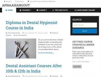apnaahangout.com screenshot