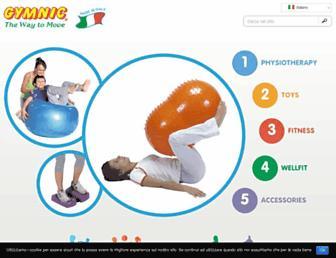gymnic.com screenshot