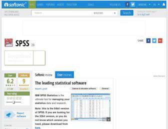 spss-64bits.en.softonic.com screenshot