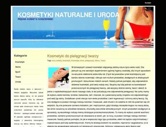 Main page screenshot of wsss.pl