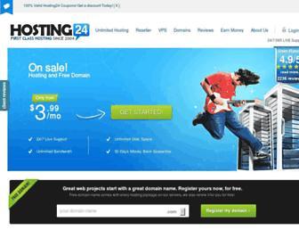 Thumbshot of Hosting24.com