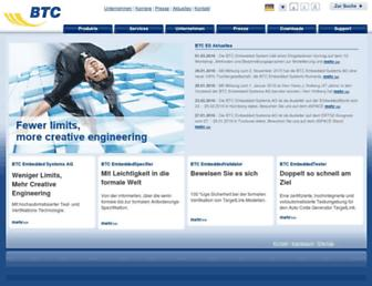 btc-es.de screenshot