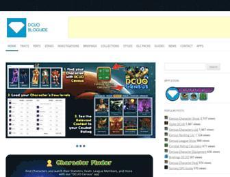 dcuobloguide.com screenshot