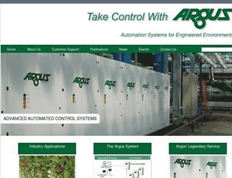 arguscontrols.com screenshot