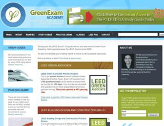 Thumbshot of Greenexamacademy.com