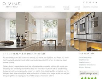 divinedesignbuild.com screenshot