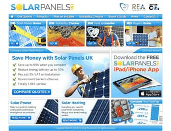 Thumbshot of Solarpanelsuk.co.uk