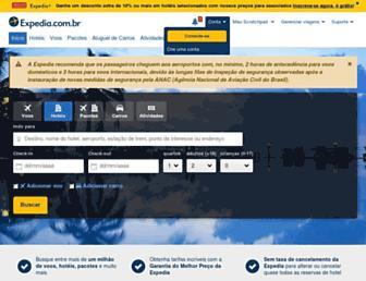expedia.com.br screenshot