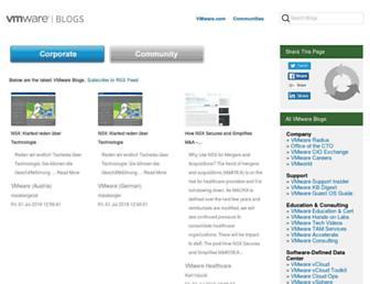 blogs.vmware.com screenshot