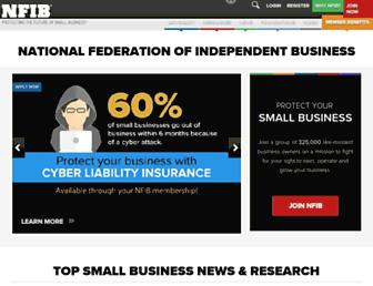 nfib.com screenshot