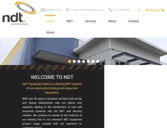 ndt.com.au screenshot