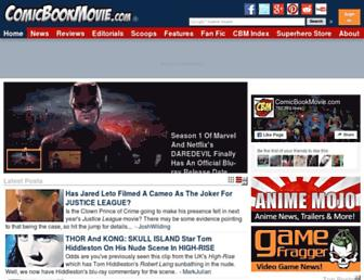 Thumbshot of Comicbookmovie.com