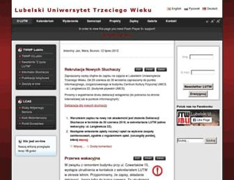 utw.lublin.pl screenshot