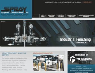 sprayequipment.com screenshot