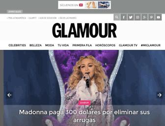 glamour.mx screenshot
