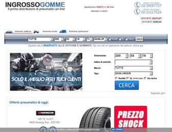 ingrossogomme.com screenshot