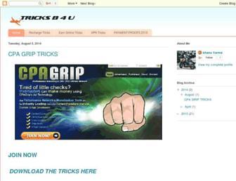 tricksb4u.blogspot.com screenshot