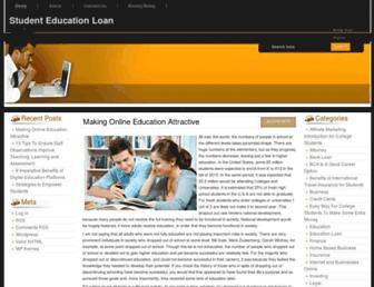Thumbshot of Studenteduloan.com