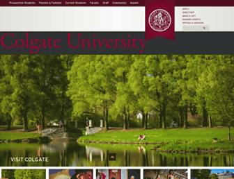 Thumbshot of Colgate.edu