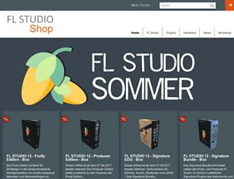 flstudio-shop.de screenshot