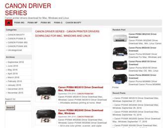 canondriverseries.com screenshot
