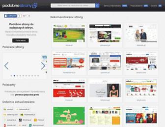 Fullscreen thumbnail of podobnestrony.pl