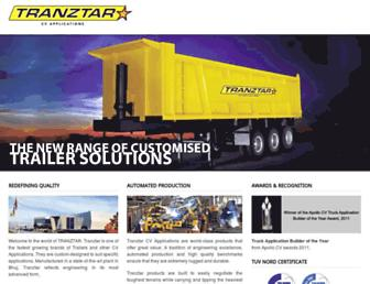 tranztar.com screenshot