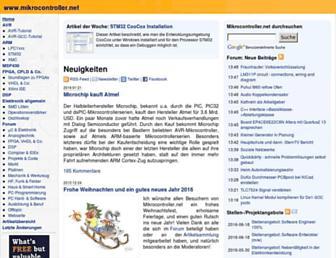 mikrocontroller.net screenshot