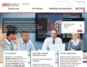 Thumbshot of Alphagraphics.com
