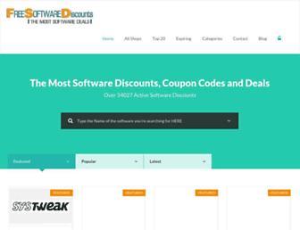freesoftwarediscounts.com screenshot