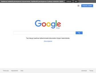 books.google.fi screenshot
