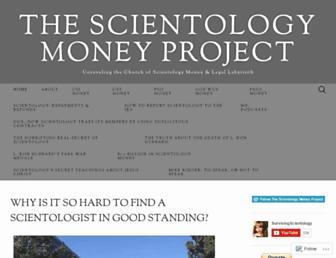 scientologymoneyproject.com screenshot