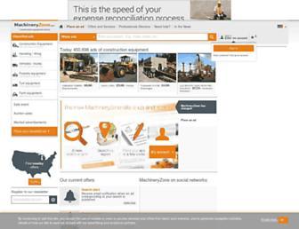 Thumbshot of Machineryzone.com
