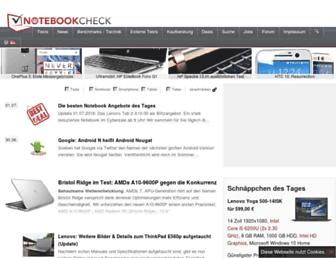 notebookcheck.com screenshot