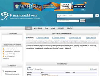 Thumbshot of Freewarehome.com