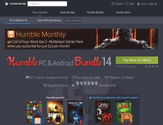 humblebundle.com screenshot