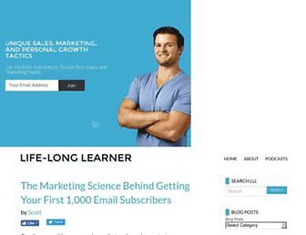 Thumbshot of Life-longlearner.com