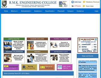 rmkec.ac.in screenshot