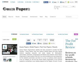 guesspapers.org screenshot