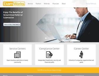examworks.com screenshot