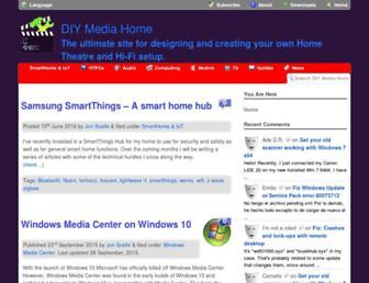 diymediahome.org screenshot