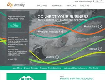 Thumbshot of Availity.com