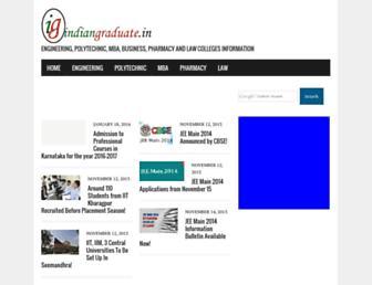 indiangraduate.in screenshot