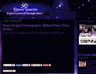 rjdancepassion.blogspot.com screenshot