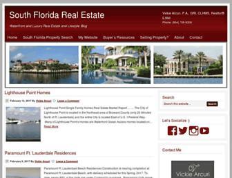 southfloridahomespot.com screenshot