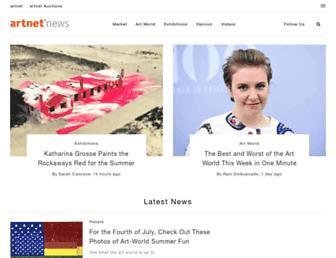 news.artnet.com screenshot