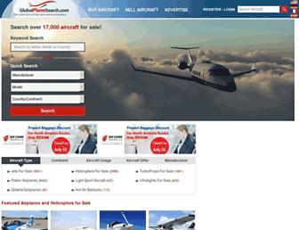 Thumbshot of Globalplanesearch.com