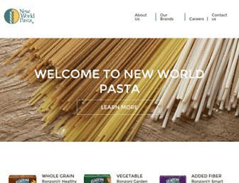 Thumbshot of Newworldpasta.com