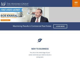 massimo-group.com screenshot